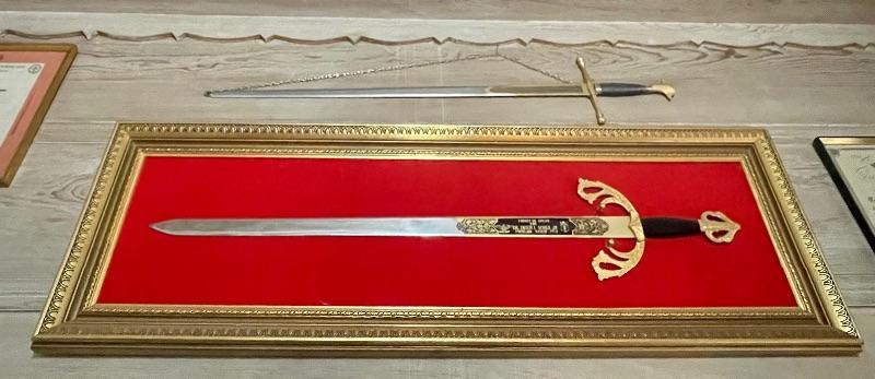 Military Officer's presentation sword