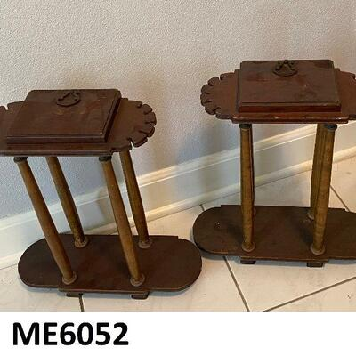 https://www.ebay.com/itm/114895799465ME6052: Pair of Tobacco Pipe Stands