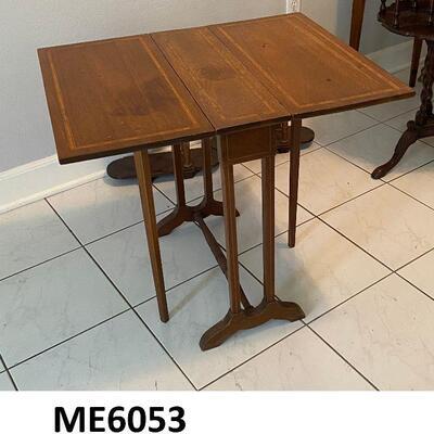 https://www.ebay.com/itm/124815358265ME6053: Small Drop Leaf Table