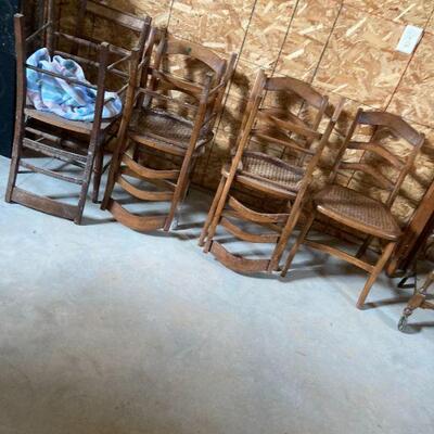 enough chairs to start a church
