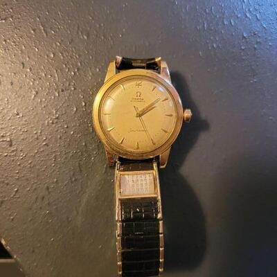 gold filled Omega Seamaster watch