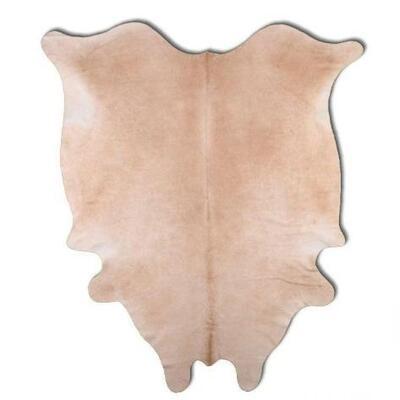 """175  Brazilian Beige/Tan cowhide rugs. Measures Approx 84""""x68"""""""