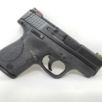 304  New Smith & Wesson M&P 9 Shield 9mm Semi-Auto Pistol Serial Number: JLC4164 Barrel Length: 3