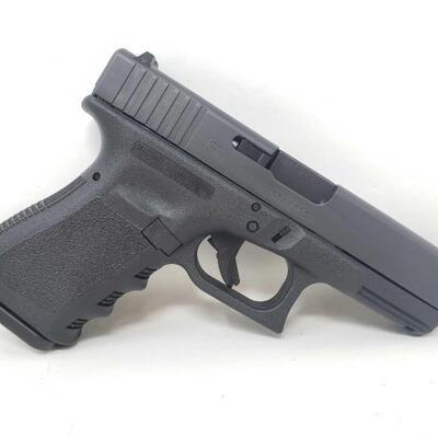 302: NEW Glock 19 9mm Semi-Auto Pistol CA OK 1 PER 30 DAYS . Serial No. BTCC272 Barrel Length 3.875