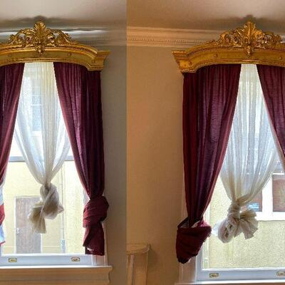 https://www.ebay.com/itm/114924824274GR7001 (2) 1800s New Orleans Window Cornice Crown from St Charles Ave Local Pickup