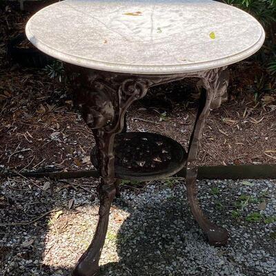 https://www.ebay.com/itm/124842020205GR7005 Wrought Iron Garden Table Local Pickup