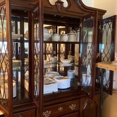 Haviland Limoge antique china set