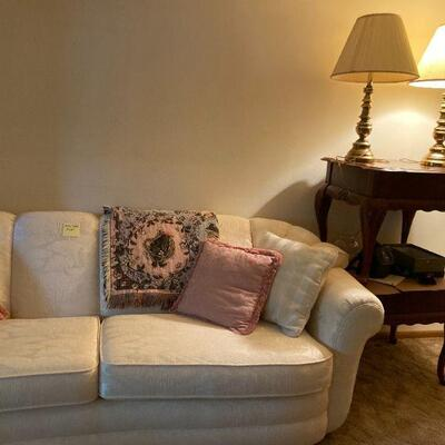 Another sofa & end tables