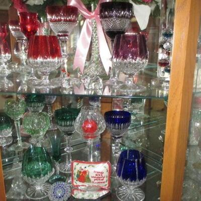 German Hock Wine Glasses and More