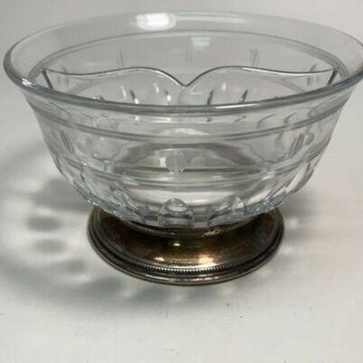 https://www.ebay.com/itm/124835396059ME1033 CLEAR GLASS BOWL WITH STERLING SILVER BASE