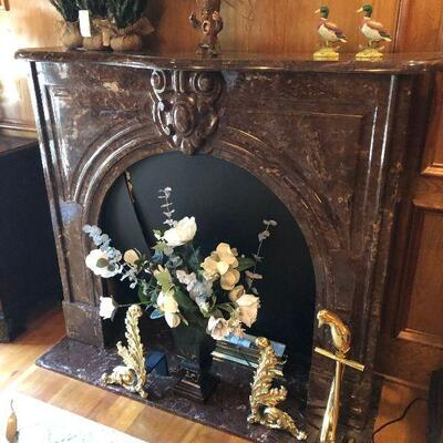 https://www.ebay.com/itm/124856492026KG0015 Vintage Brown Faux Fireplace Mantel Local PickupBuy-It-Now $499.99