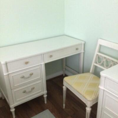 Desk and chair, $45