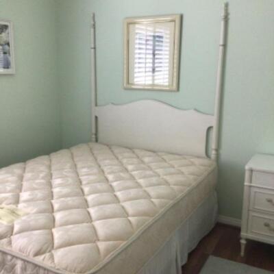 Queen bed, $100 Headboard, $35