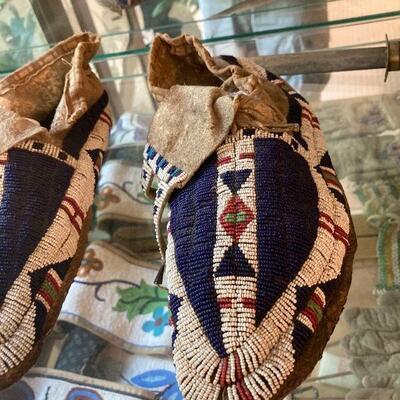 Buffalo Claw moccasins