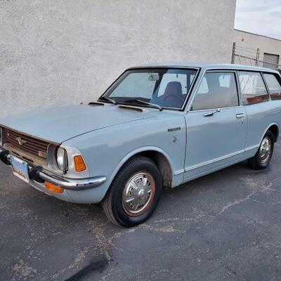 #142 • 1971 Toyota Corolla TE28 2 Door Wagon