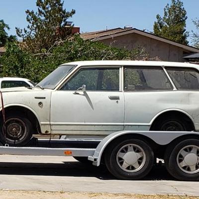 #144 • 1971 Toyota Corolla TE28 2 Door Wagon