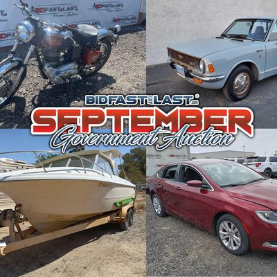 September Government Auction