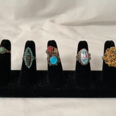 Large Assortment of Fine and Costume Jewelry Each Participating Family Has Sent Photos of What They Are Selling. These are Just a few...