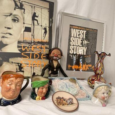 Entertainment, Royal Doulton, Hummel, Fine Lace and  Glass. Each Participating Family Has Sent Photos of What They Are Selling. These are...