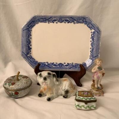 Imported European Porcelain, Figurines and Post Cards   Each Participating Family Has Sent Photos of What They Are Selling. These are...