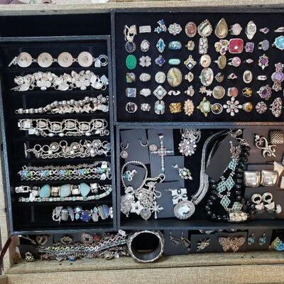 Sterling silver statement jewelry, all 50% off original prices!