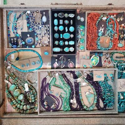 Southwest Style jewelry by Carolyn Pollack, Desert Rose Trading and others, all 50% off original prices!