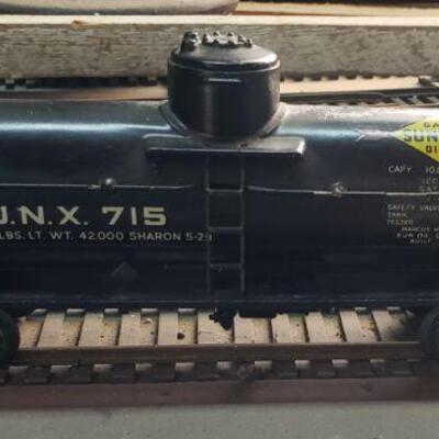 Lionel Pre-war tanker scale model - Sunoco Oil