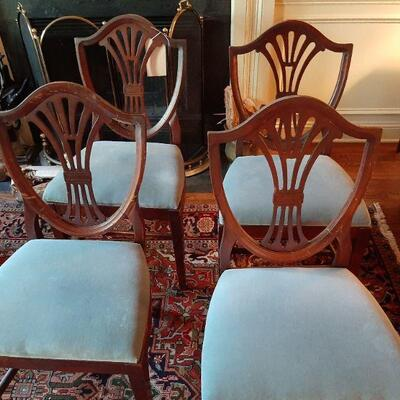Set of 4 chairs  $120.00