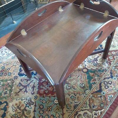 Butler tray table $150.00