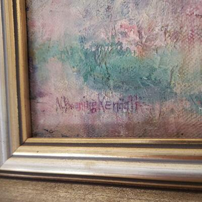 Original painting by listed California artist Marie Boening Kendall.