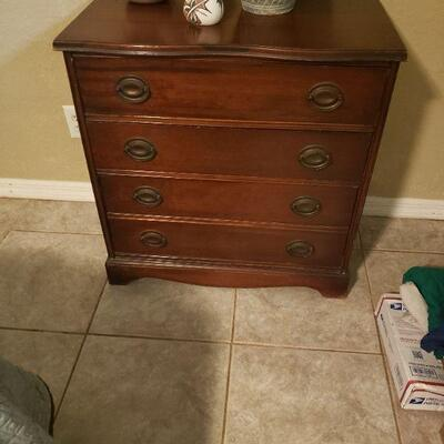 small cabinet or nightstand