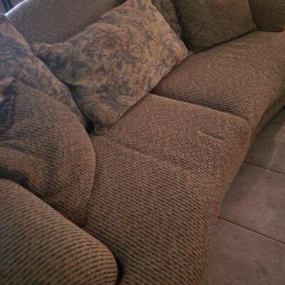 one of two sofas