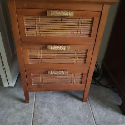small cabinet can be used for a nightstand or any number of uses