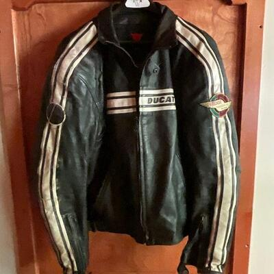 Ducati Dainese 1980's Leather Racing jacket