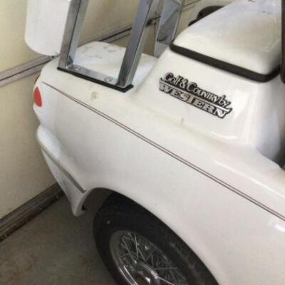 2000 golf cart needs new batteries. Taking offers.