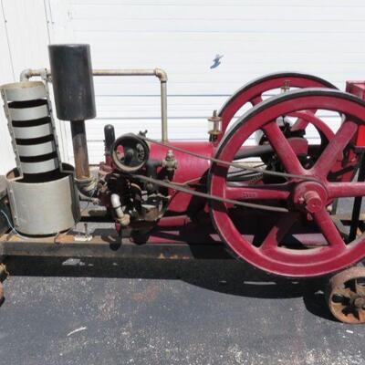 Samson 6 hp hit and miss engine