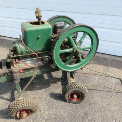 Fairbanks Morse Z hit and miss engine, 1 1/2 hp