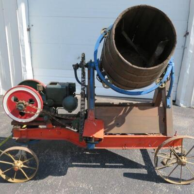 Taylor Vacuum Motor hit and miss cement mixer