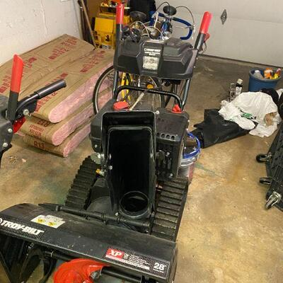 brand new Troy Bilt snow blower bought in March 2021 for $2000 asking $1500 OBO Call if you want it before sale starts!
