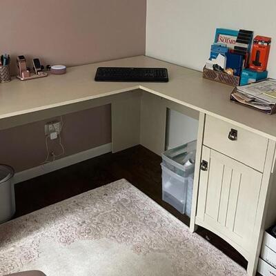 L-Shaped Farmhouse Style Desk Item # 1028 Price $250