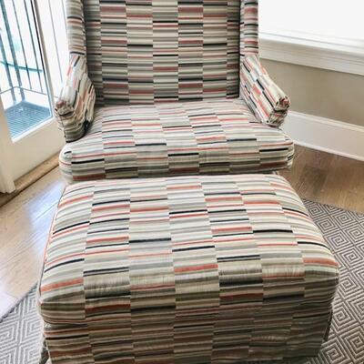 chair with ottoman $750 chair 35 X 28 X 41