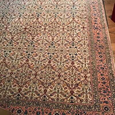 Turkish handmade wool rug $1,095 102 X 152
