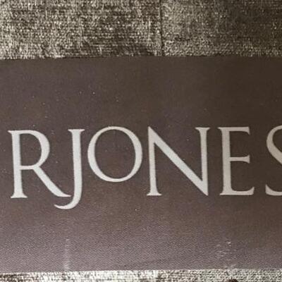 R Jones down filled sofa $1,195 88 X 40 X. 38
