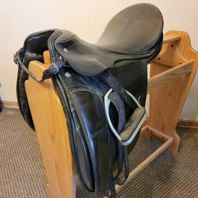 2010  G. Passier & Sohn Hannover English Saddle Rack not included