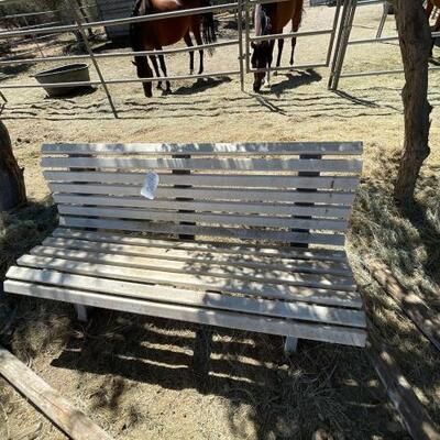 1106  Plastic Bench Plastic Bench