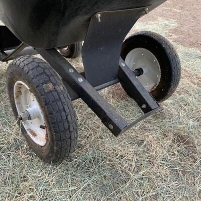 """1190  Big 4 Wheelbarrow 52"""" x 27"""" x 36"""""""