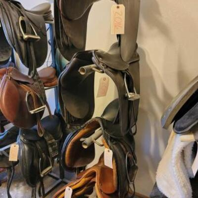 2036  3 Tier Saddle Rack Approx 73