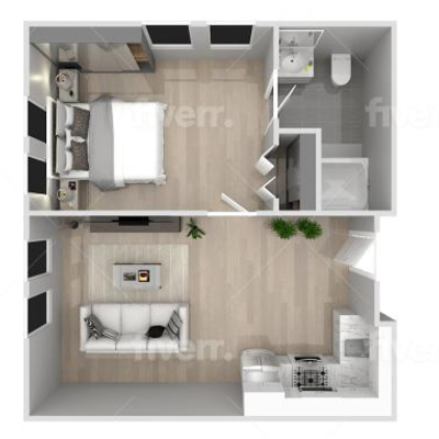 California Home Villa Construction Company - https://cahvc.com/  Size of the house: 600′ = 2 bedrooms' , 1 Complete Bathroom, kitchen,...