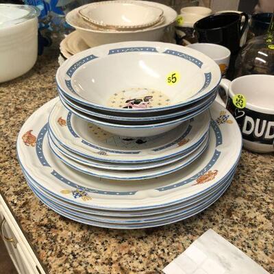 Newcor Stoneware china