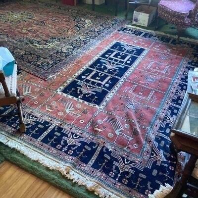 Indo-Pakistani rug 9'9